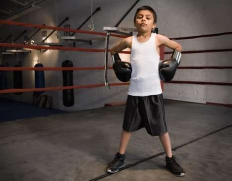 Teenage Boxing Lessons