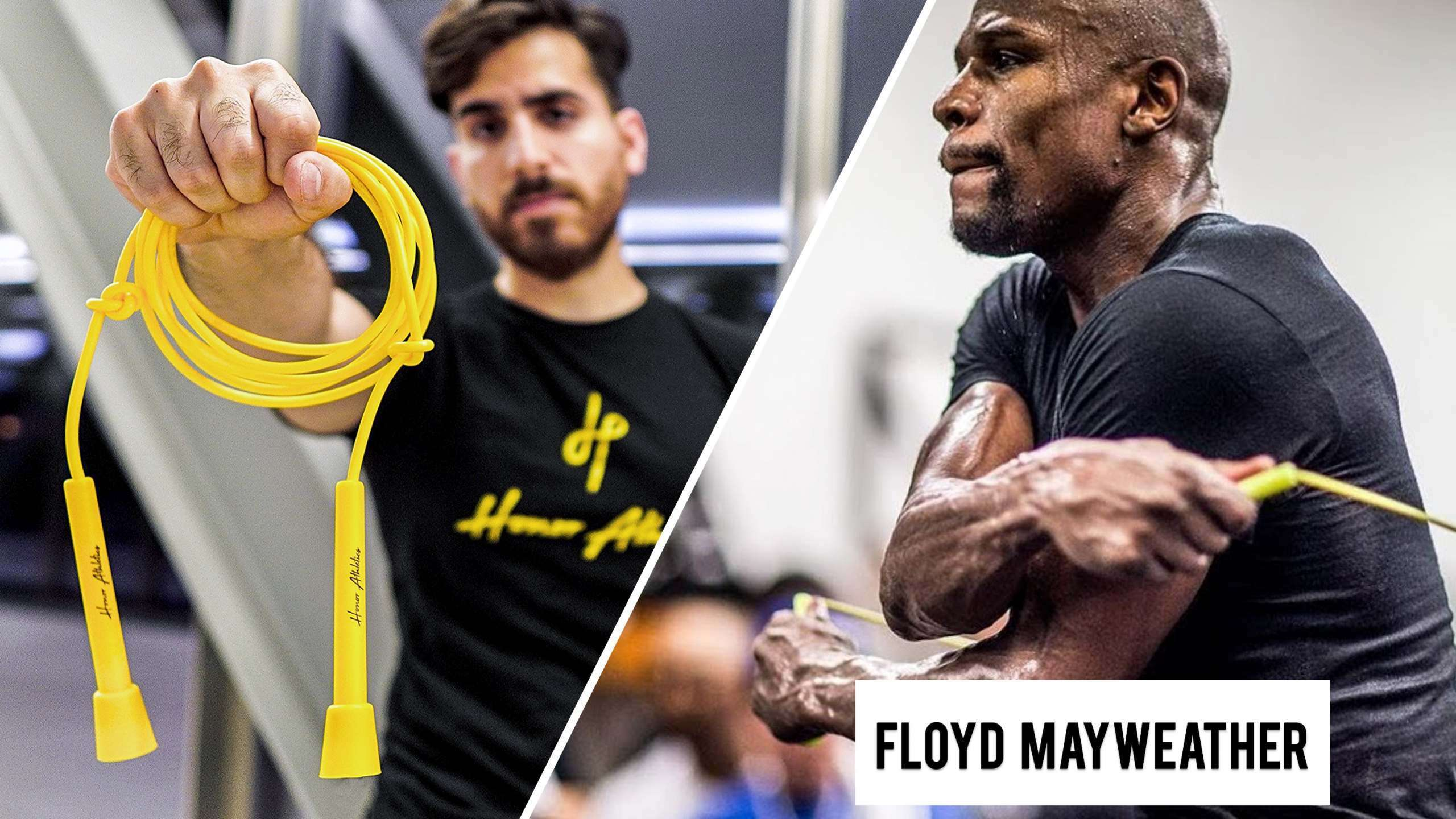Without a doubt, anyone would be impressed by Floyd Mayweather jump rope skills!!