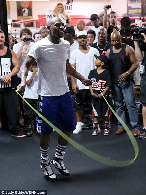 After watching some videos, you probably are curious to learn about Floyd Mayweather jump rope skills. What do you think?