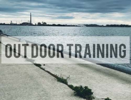 Outdoor Boxing Training