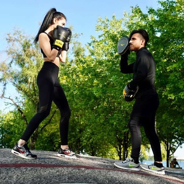 Woman Boxing Lessons