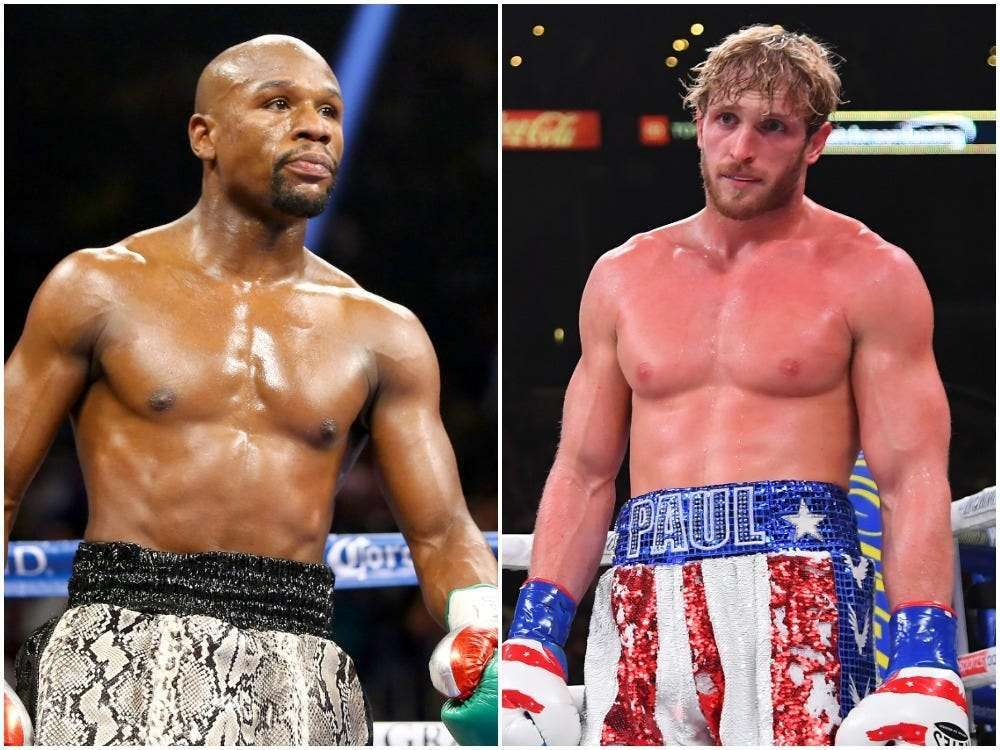 Fight Between Floyd Mayweather and Logan Paul
