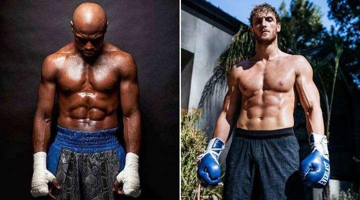 Floyd Mayweather is fighting Logan Paul