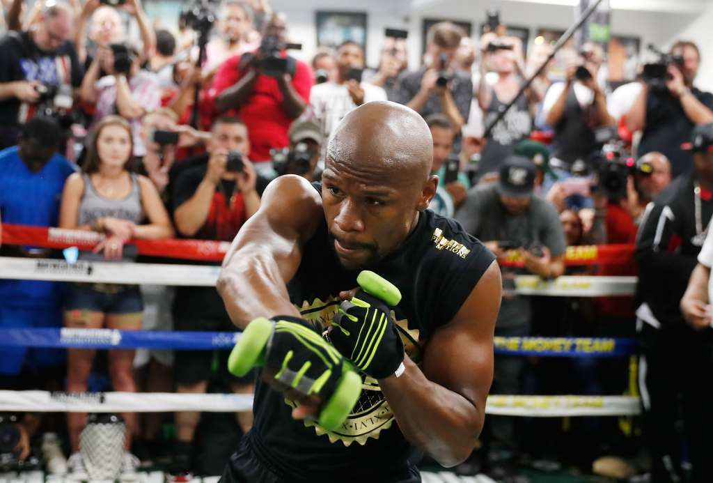 Floyd Mayweather Shadow Boxing Workout