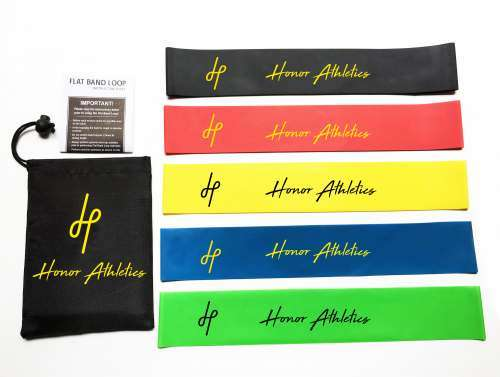 Honor Athletics Resistance Loop Bands