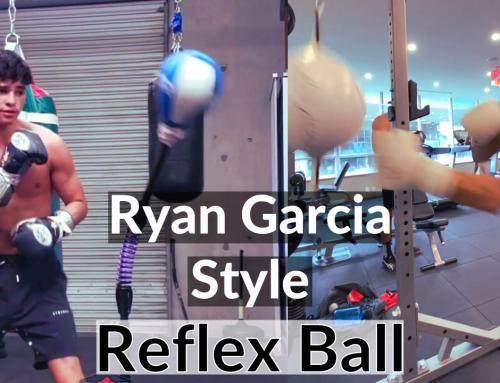 Ryan Garcia Reflex Bag Workout