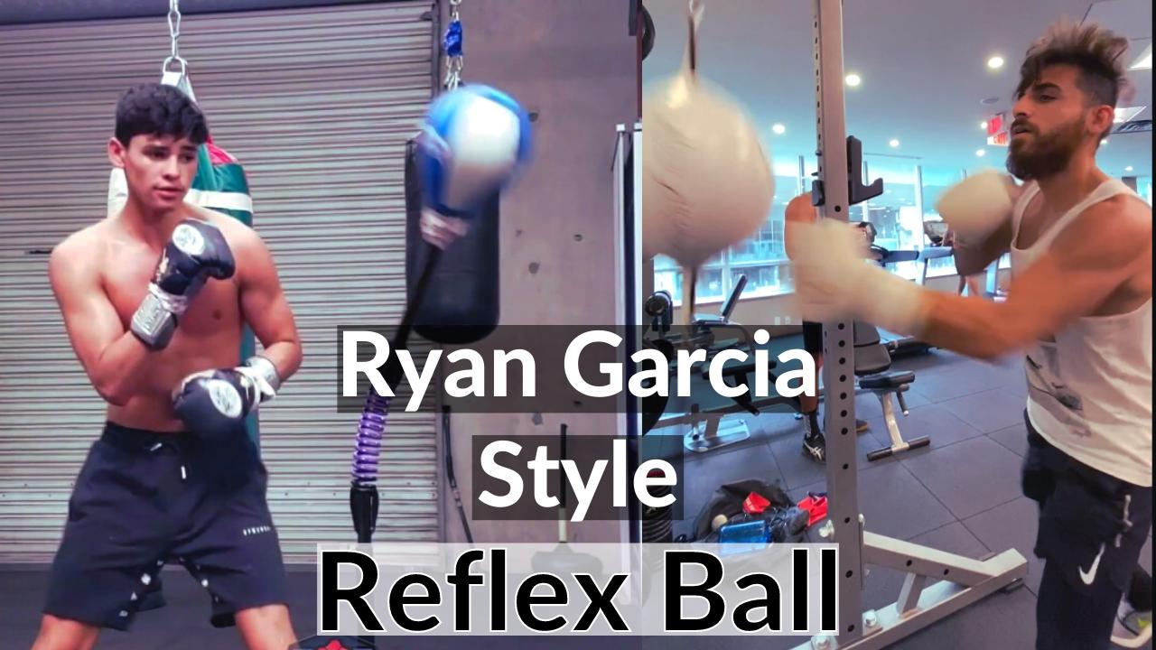 Ryan Garcia Reflex WorkOut