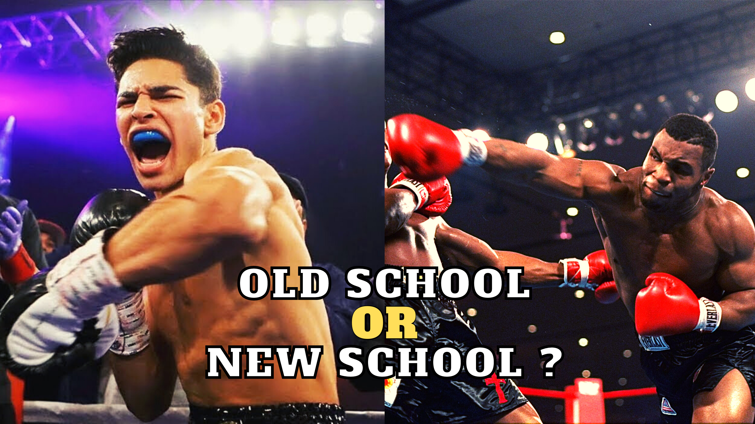 Old School or New School Boxing Training
